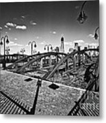 Path Well Worn  Metal Print by Leslie Leda