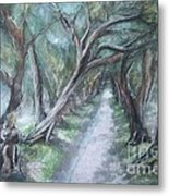 Pathwalk Metal Print