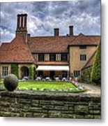 Patio Restaurant At Cecilienhof Palace Metal Print