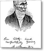 Patrick Bront� (1777-1861) Metal Print