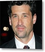 Patrick Dempsey At Arrivals For Avon Metal Print by Everett