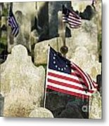 Patriot Cemetery Metal Print