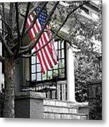 Patriot Porch Metal Print