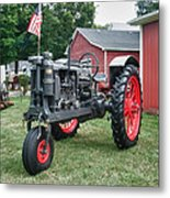 Patriotic Farmall Metal Print