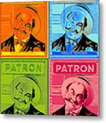 Patron Marque Deposee Cigar Label Metal Print