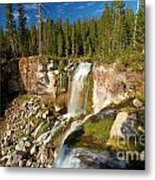 Pauina Falls Overlook Metal Print