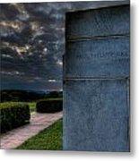 Paul Cret Gettysburg Monument Metal Print by Andres Leon