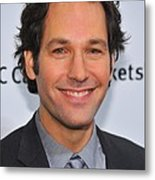 Paul Rudd At Arrivals For Ifps 20th Metal Print by Everett