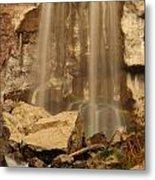 Paulina Falls Cascade Metal Print