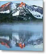 Paulina Lake Reflections Metal Print