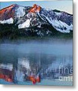 Paulina Peak Reflections Metal Print