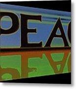 Peace-2 Metal Print