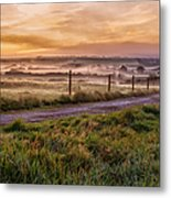 peace and quiet in the English coutryside Metal Print