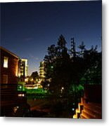 Peace Center Nights 5 Metal Print