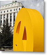 Peace From The Oakland Museum To The Supreme Court Of California . County Of Alameda . 7d13423 Metal Print by Wingsdomain Art and Photography
