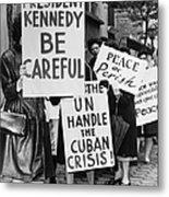 Peace Protest, 1962 Metal Print