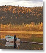 Peaceful Harding Lake Metal Print