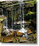 Peaceful Rocks Metal Print
