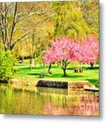 Peaceful Spring II Metal Print