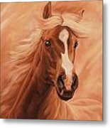 Peach Metal Print by JQ Licensing