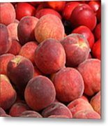 Peaches And Nectarines Metal Print