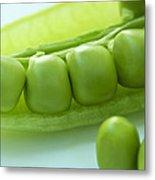 Peas In A Pod Metal Print