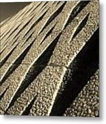 Pebble Wall Metal Print