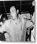 Pedro Joaquin Chamorro 1924-1978 Metal Print
