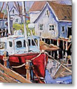 Peggy S Cove 02 By Prankearts Metal Print