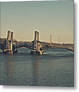 Pelham Bridge - Fade Metal Print
