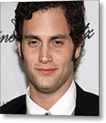 Penn Badgley At Arrivals For The 2009 Metal Print by Everett
