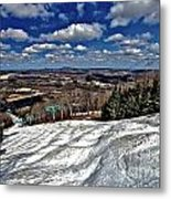 Pennsylvania Bumps Metal Print