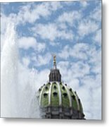 Pennsylvania Capital Metal Print