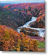 Pennsylvania Color Metal Print