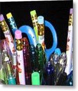 Pens And Pencils Metal Print