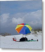 Pensacola Umbrella Metal Print