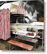 Penthouse Campers Club-chrysler Metal Print