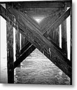Penthouse Pier Metal Print