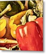 Peppered 4 Metal Print
