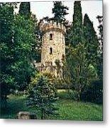 Pepperpot Tower At Powerscourt Metal Print