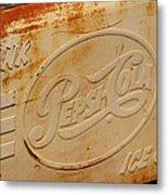 Pepsi Cola Remembered Metal Print