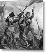 Pequot War, 1636-3 Metal Print
