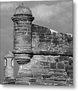 Perched On History Metal Print