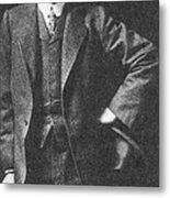 Percival Lowell, American Astronomer Metal Print