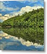 Perfect Reflections Metal Print by Adam Jewell
