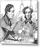 Performing The Marsh Test, 1856 Metal Print by Science Source