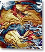 Permanent Waves Metal Print by Linda Sannuti
