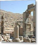 Persepolis Color Metal Print by Tia Anderson-Esguerra