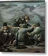 Perseus And The Graiae Metal Print