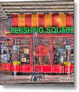 Pershing Square Central Cafe I Metal Print